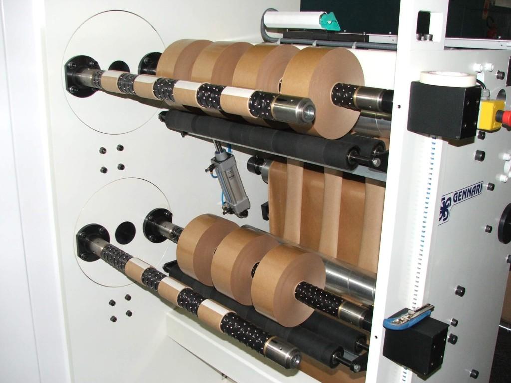 3- eixo diferencial com bobinas cortadas